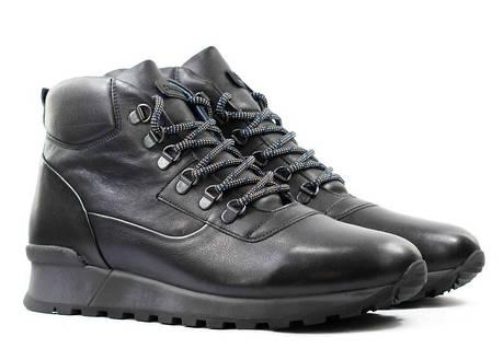 Зимові чоловічі черевики натуральна шкіра розміри KADAR, фото 2