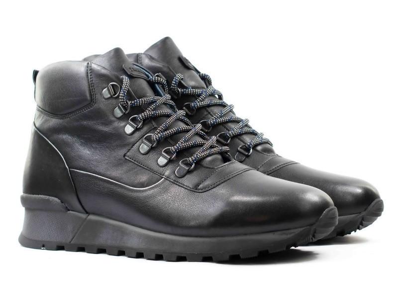 Зимові чоловічі черевики натуральна шкіра розміри KADAR