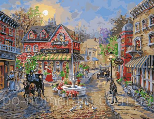 Картина Старинный городок