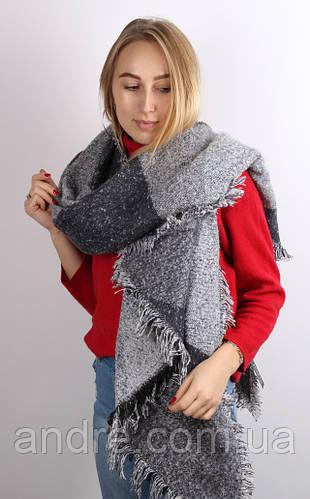 Тёплые шарфы Моника, серый