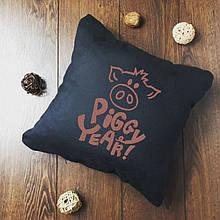 "Новогодняя подушка ""Piggy Year""  01"