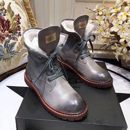 Мужские кожаные зимние ботинки UGG.Купить в Украине!, фото 2