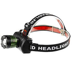 Мощный налобный фонарик с тремя режимами работы | Фонарик на голову  BAILONG POLICE BL-6966-T6