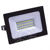 Прожектор светодиодный LED 20w 6500K IP65 1600LM 180-300V чёрный