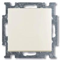 Выключатель перекрестный одноклавишный, белый-шале, Basic55