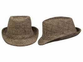 Шляпа Ален демисезонная Интересный вариант аксессуара Подвластно с легкостью изменить ваш образ Код: КГ6459