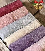Полотенце для рук белое «Saheser» 30*50 см