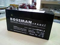 Свинцовый аккумулятор Bossman profi 12V 1.3Ah