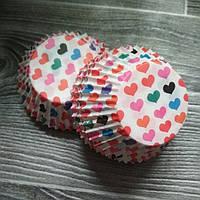 Бумажные формы Маленькие Сердечки