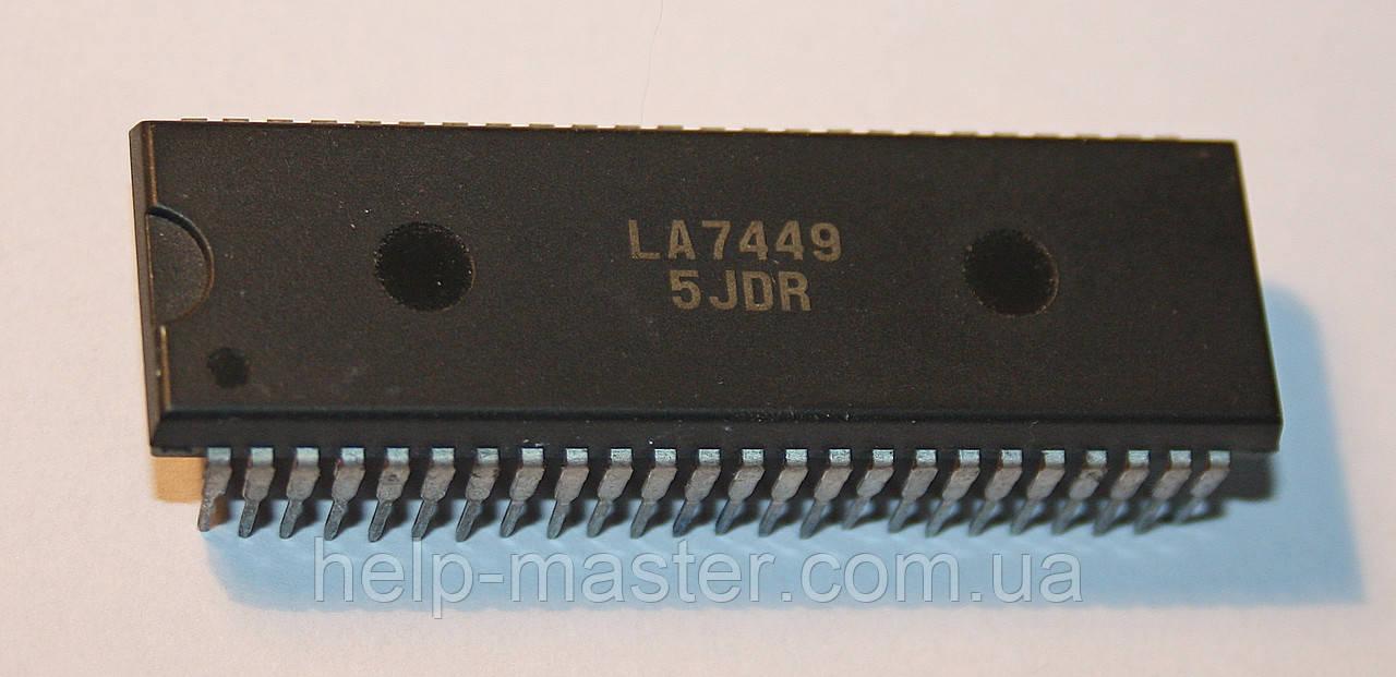 Микросхема LA7449 (DIP48S)