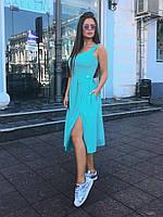 Платье-сарафан мята, арт.1011, фото 1