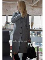 0bf1629253a Пальто весеннее женское двубортное Rinna Rossi 7060 прямого силуэта.