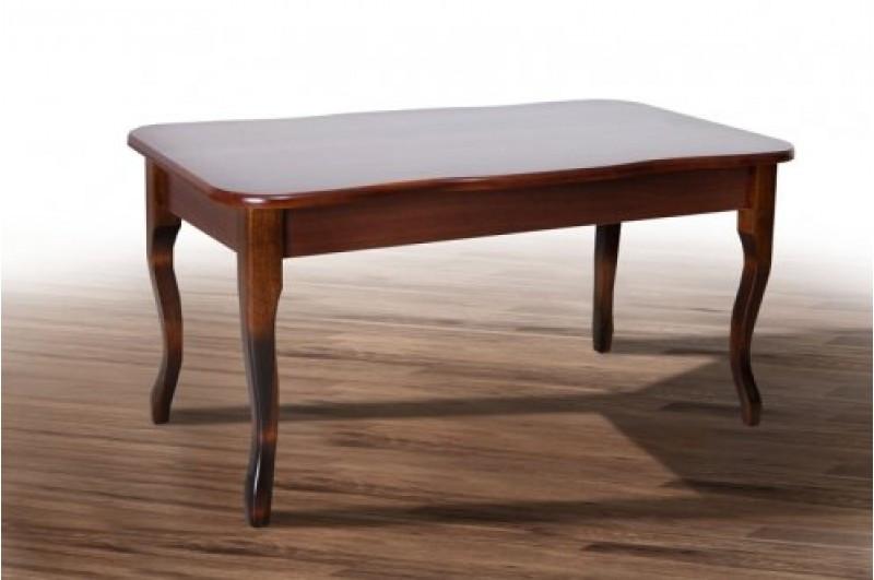 Стол журнальный, деревянный -Бридж (цвет - темный орех)