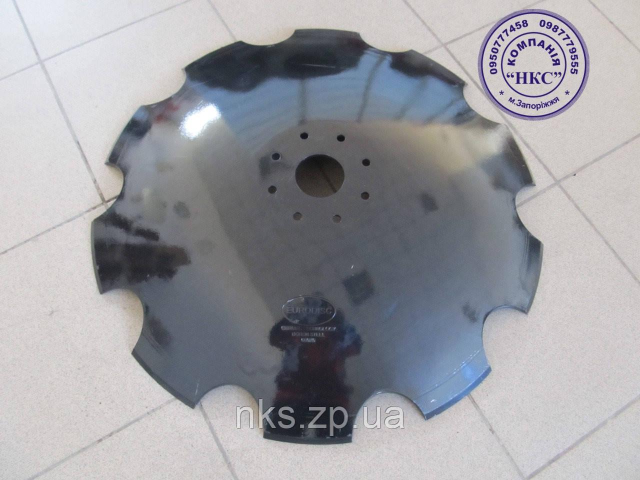 Диск ромашка (бориров) 660х6 УДА-4,5 Eurodisk.
