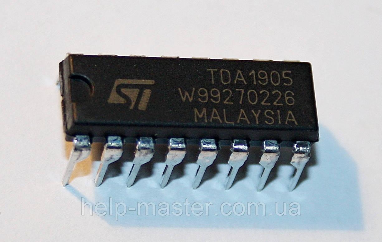 Микросхема TDA1905 (DIP-16)