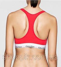 Женское нижнее белье Calvin Klein 3в1 ( стринги шортики топ) копия, фото 3
