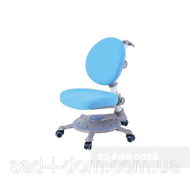 Детское компьютерное ортопедическое кресло для мальчика FunDesk SST1, голубое