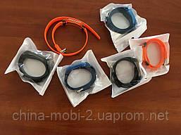Ремешок силиконовый MiJobs двойной оборот для Xiaomi Mi Band 2, фото 2