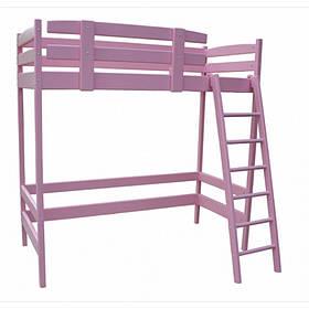 """Ліжко-горище """"Снові"""" рожевий"""