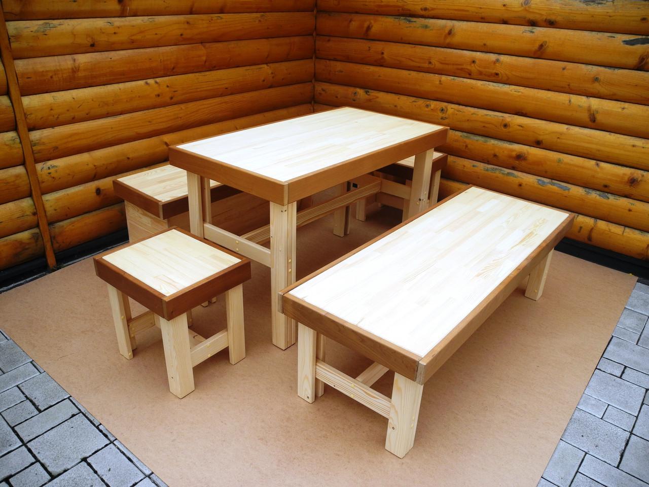 Мебель для сауны, бани. Мебель из дерева.