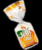 Шоколадные конфеты BS Jelly со вкусом апельсина фабрика Баян Сулу республика Казахстан