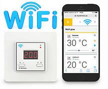 Терморегулятор беспроводный TERNEO AX Wi-Fi 16A 230V диапазон изм. -25...+76*С с датчиком t*