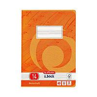 Тетрадь для нот Herlitz А5 8 листов книжный формат  (3321403)