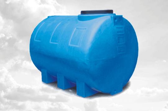 Бак для води пластиковий горизонтальний 1000 літрів