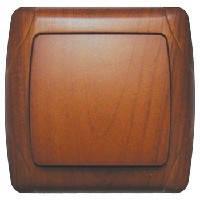 VIKO Выключатель Carmen Decora (Красное дерево) 1-клавишный (93010801)