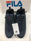 Кросівки Fila темно-сині, фото 2