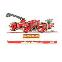 Инерционная металлическая машинка Пожарная 2211-11 (53864)