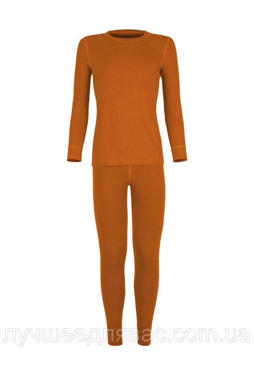 Комплект для девочки оранжевого цвета  38-42 размера , фото 1