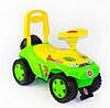 Машинка для катания Орион ОРИОША 198_З Зеленая (29610)