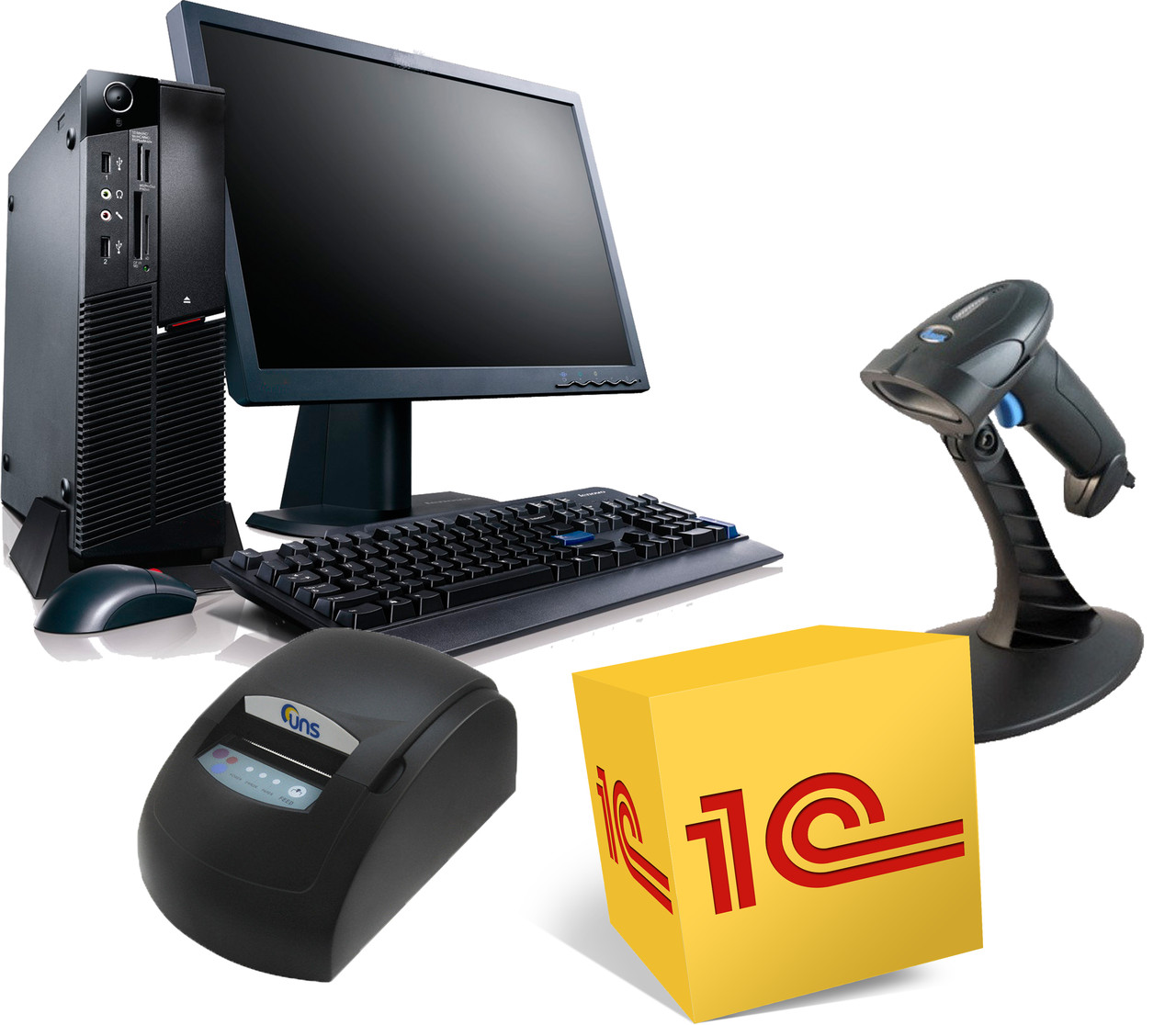 Комплект оборудования с программой учета для магазина
