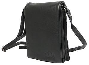 Небольшая наплечная кожаная сумка-барсетка Always Wild 011NDM