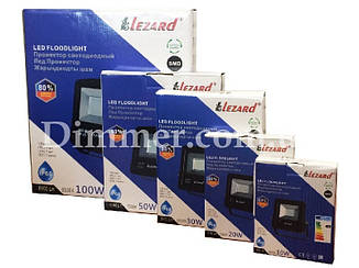 Прожектор светодиодный 10W, IP65 6500K 800Lm LEZARD