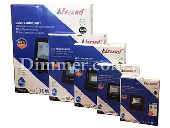 Прожектор світлодіодний 100W, IP65 6500K 8000Lm LEZARD
