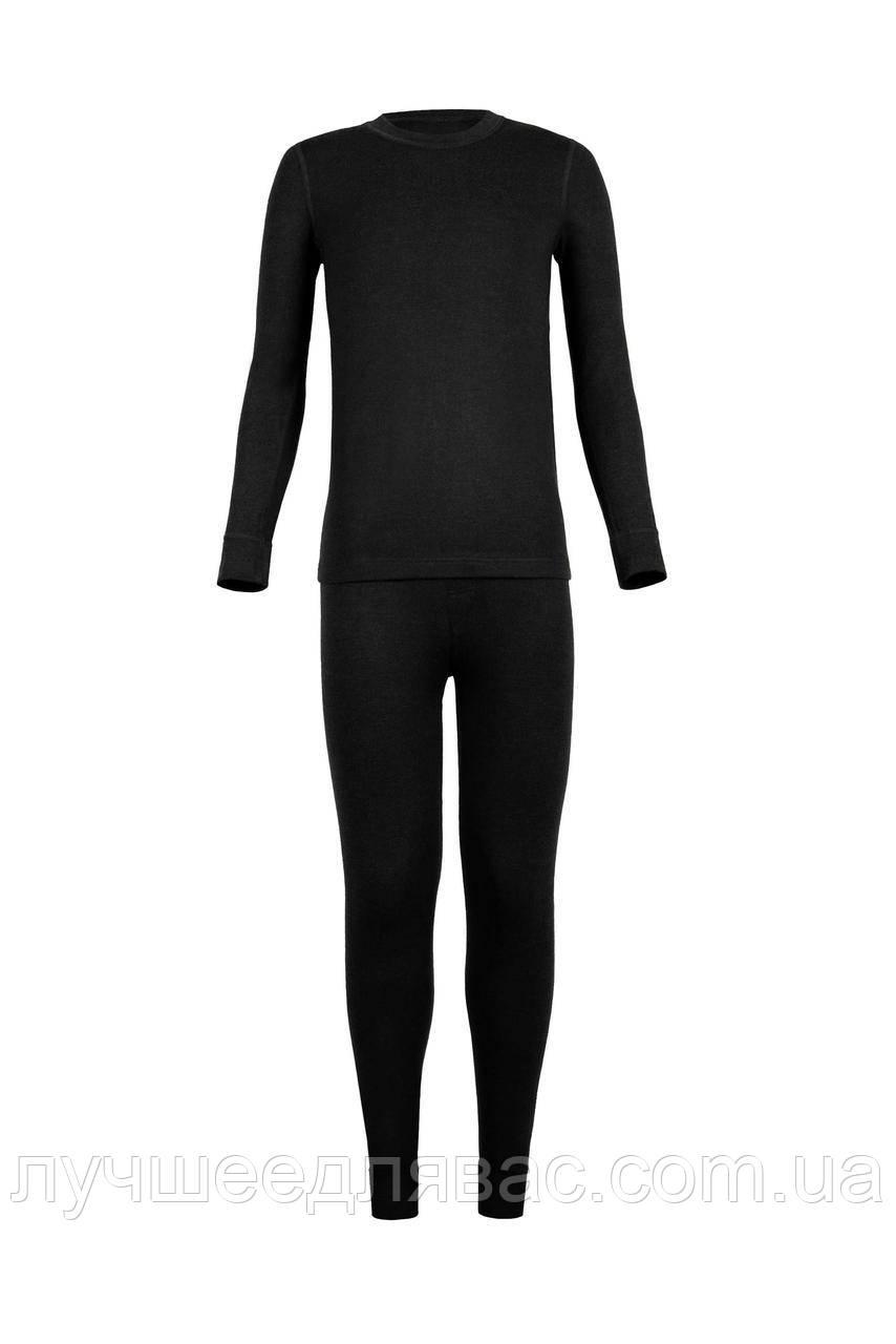 Комплект термо для мальчика черного цвета 38-42 размера, фото 1