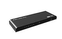 LKV 501HDR адаптер сплитер свич на 5 HDMI входов и 1 HDMI выход  5 × 1 HDMI 2.0 4Kx2K@60Hz, фото 1