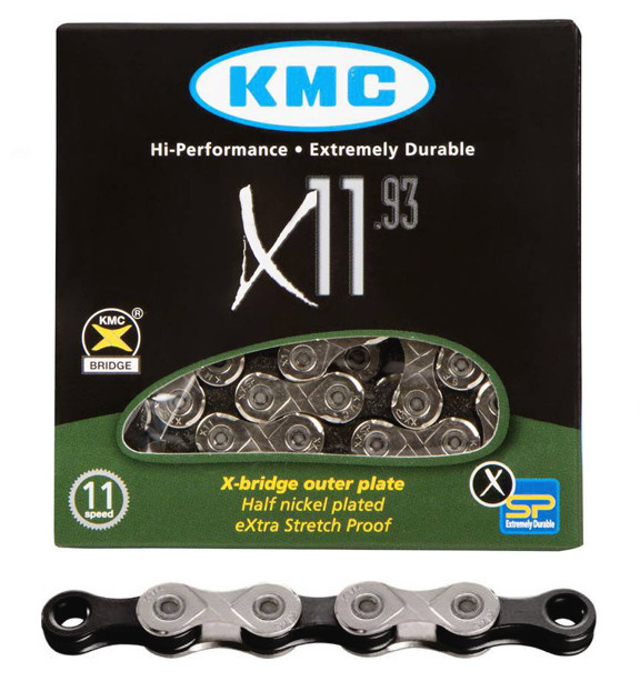 Цепь KMC X11.93 (silver/black)