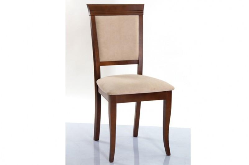 Стул обеденный с мягкой сидушкой, спинкой - Неаполь -Н (цвет орех)