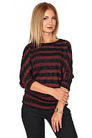 Женская трикотажная кофточка №427 (красный)