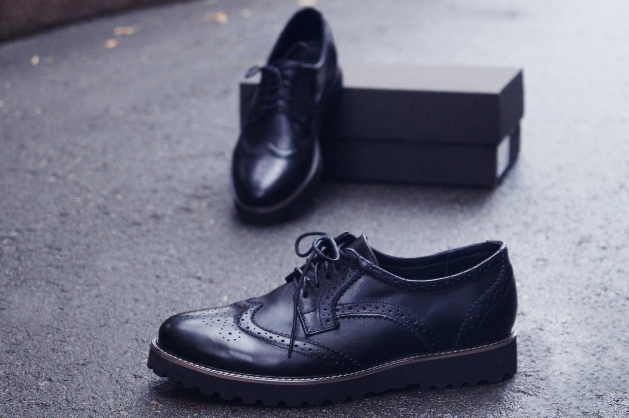 6ed4a8a33 Туфли броги мужские черные кожаные Оникс (Onyx) от бренда Legessy размер 40,  41, 42, 43, 44, 45, цена 1 599 грн., купить в Харькове — Prom.ua  (ID#810856770)