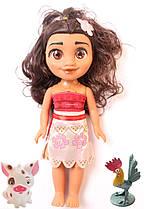 Кукла MOANA Ваяна с свинкой и петушком Быстрая доставка Гарантия качества