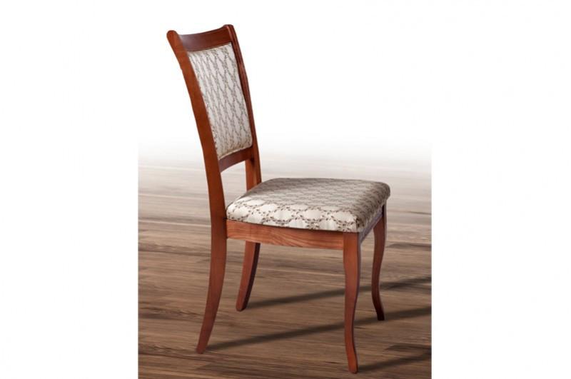 Классический деревянный стул с мягкой сидушкой, спинкой -Верона (цвет орех)