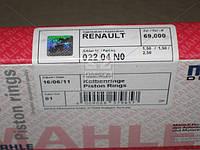 Кільця поршневі RENAULT 69,00 D7F (пр-во Mahle), 022 04 N0