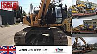Гусеничный экскаватор JCB JS220LC 2013 года уехал к новому владельцу.