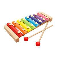 Ксилофон 8 нот в коробке (простой)