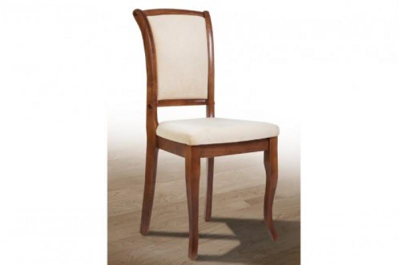 Обеденный стул из массива ясеня -Марио. Мягкая сидушка, спинка (цвет орех)