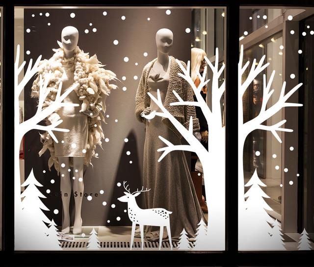 оформление витрин магазинов к новому году,  украшение витрин к новому году, украшения витрин ресторана на новый год, украшения витрин на новый год, оформление новогодних витрин